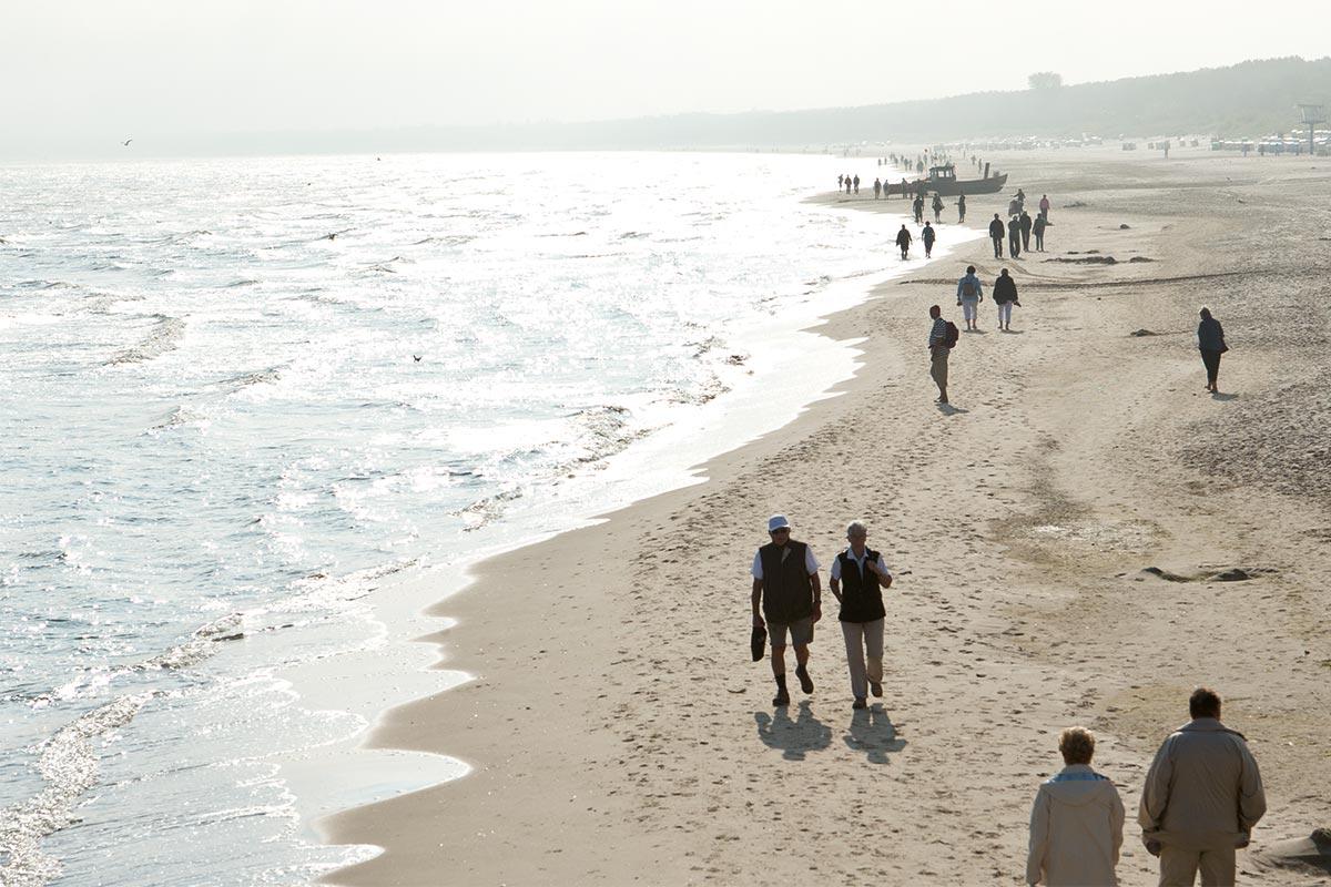 Strandläufers beste Zeit