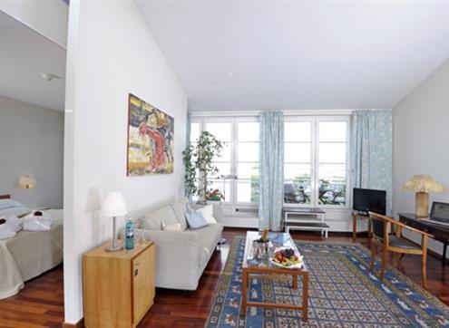 Suite mit Schlaf- und Wohnbereich