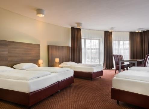 Novum Hotel City B Familienzimmer
