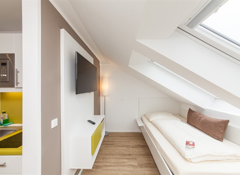 Novum LikeApart Hotel Fürth Studio