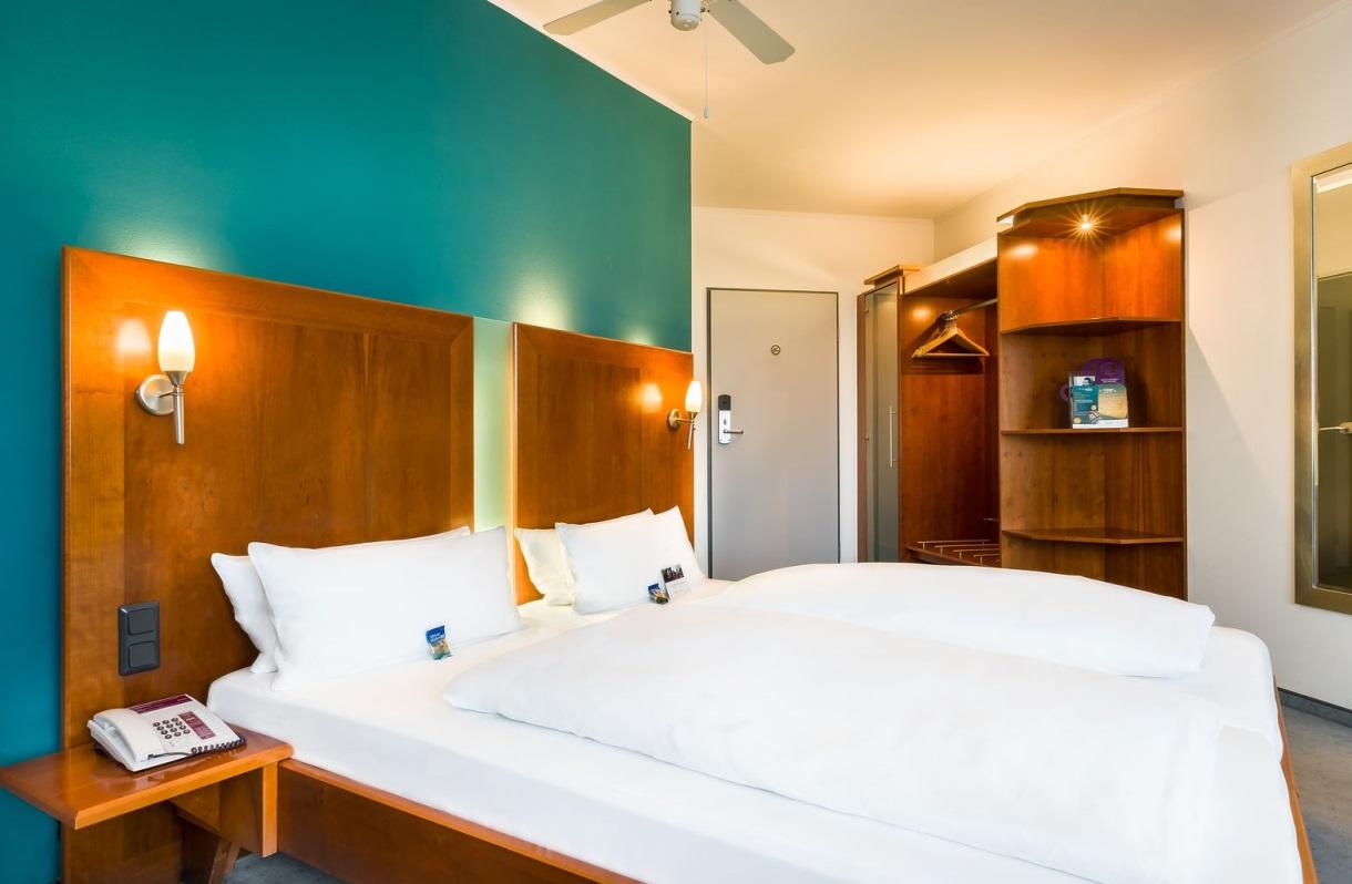 Select Hotel am CentrO Oberhausen Komfort Dreibettzimmer